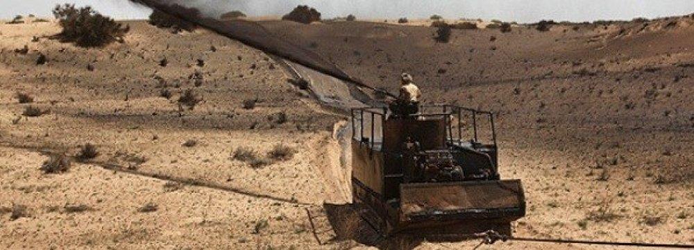 Mulching in Khuzestan Debated