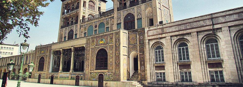 Tehran Municipality Suspends Construction Project Near Golestan Palace