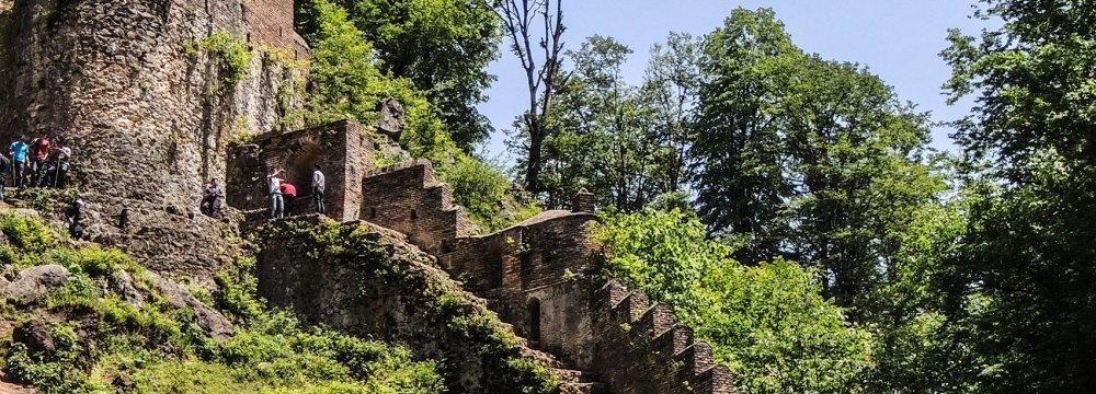 Restoration of Roudkhan Towers Progressing Well
