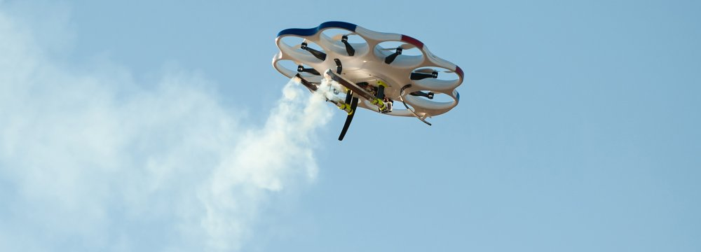 Iran to Use Drones for Cloud Seeding