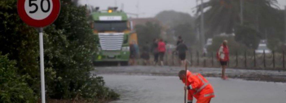 NZ Storm-Hit Road Reopens