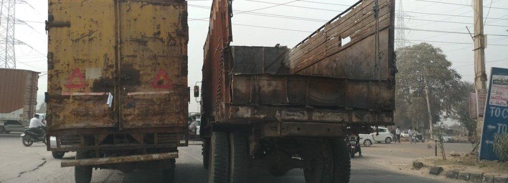 Tehran Bans Polluting Trucks
