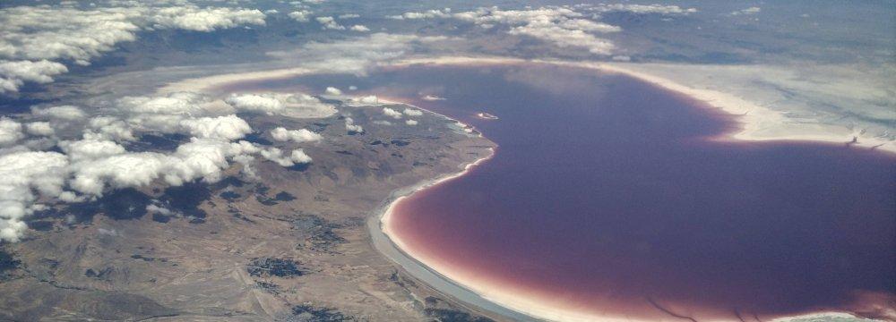 Urmia Sand Stabilization Successful