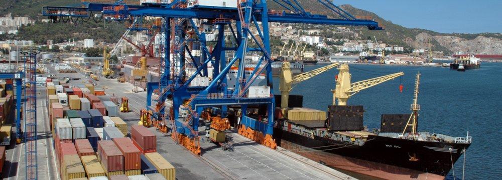 Algeria Trade Deficit Sharply Down