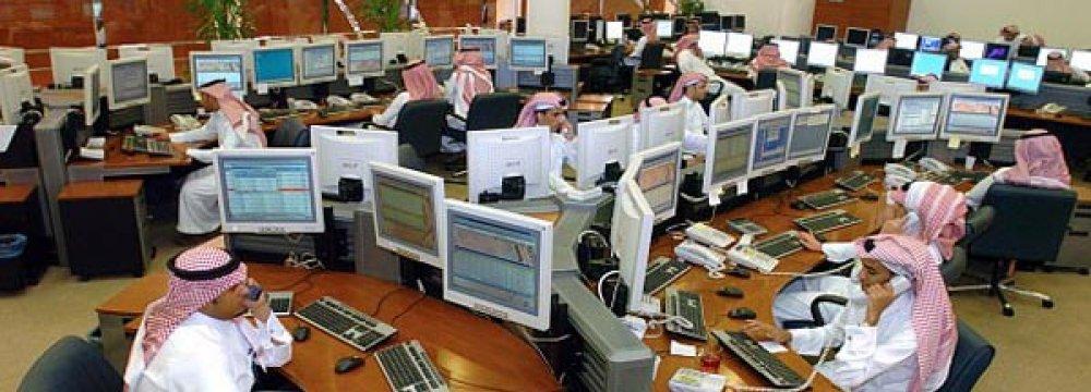 Arab Stocks Tumble