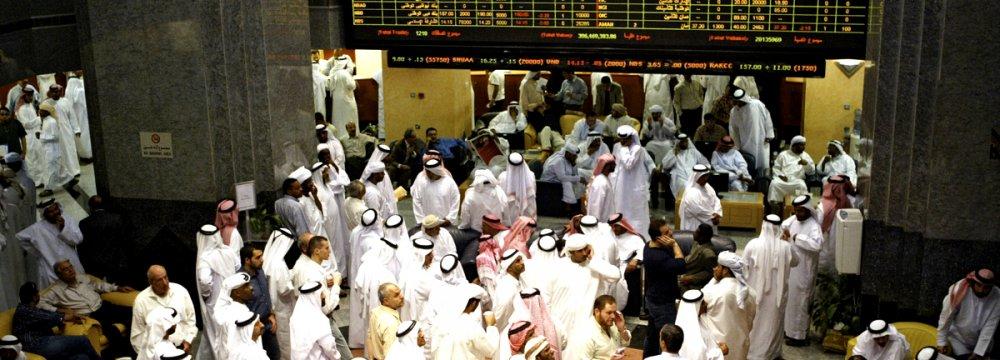 Arab States Banking Shares Plummet