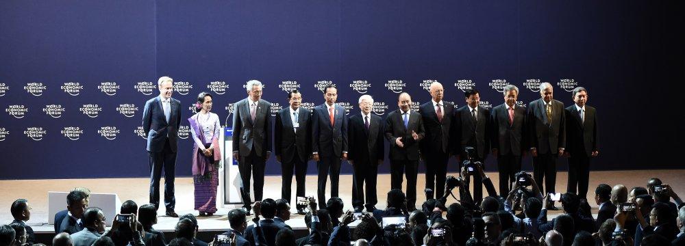 ASEAN Leaders Seek Coop.  Compatible With Industry 4.0