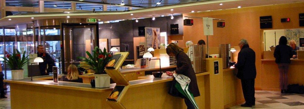 Banking in Sweden.