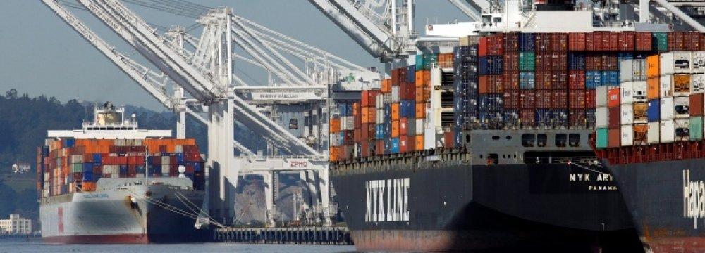 Canada Posts Trade Surplus