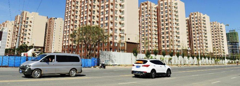 China Freezes Property Sales