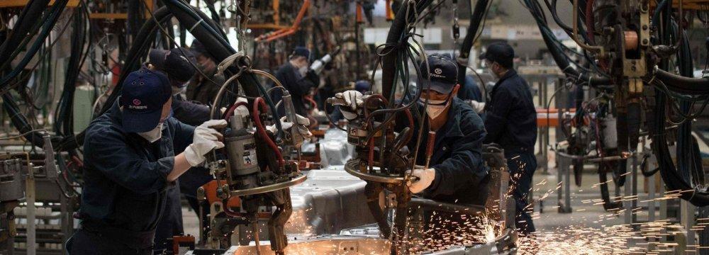 China Economy Showing Weakness