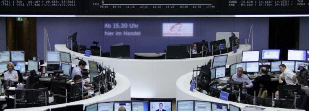 European Shares Plummet