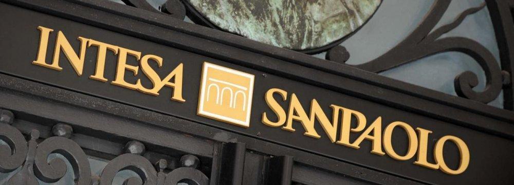 Italy's Intesa Sanpaolo Bank