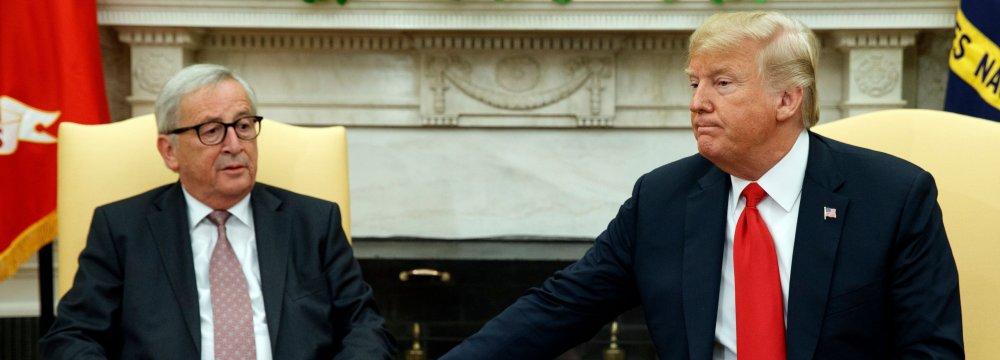 France Questions Trump-Juncker  Accord
