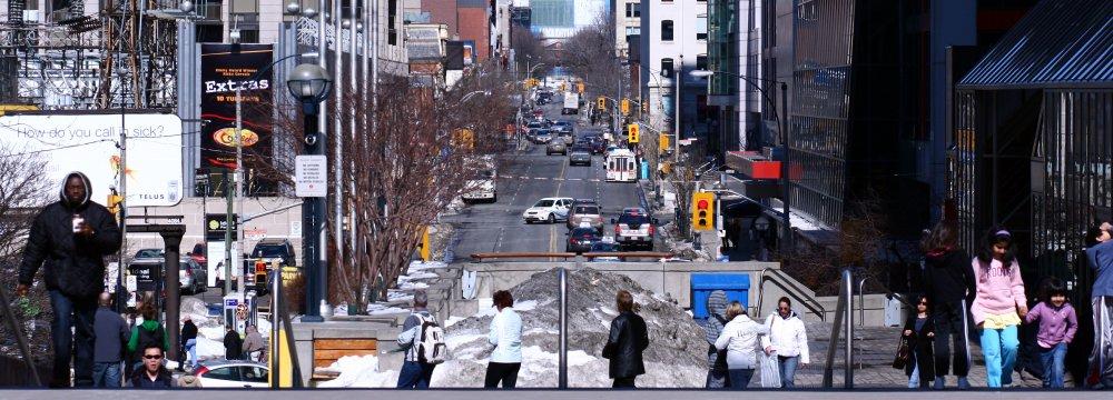 Women are underrepresented in Canada's workforce.