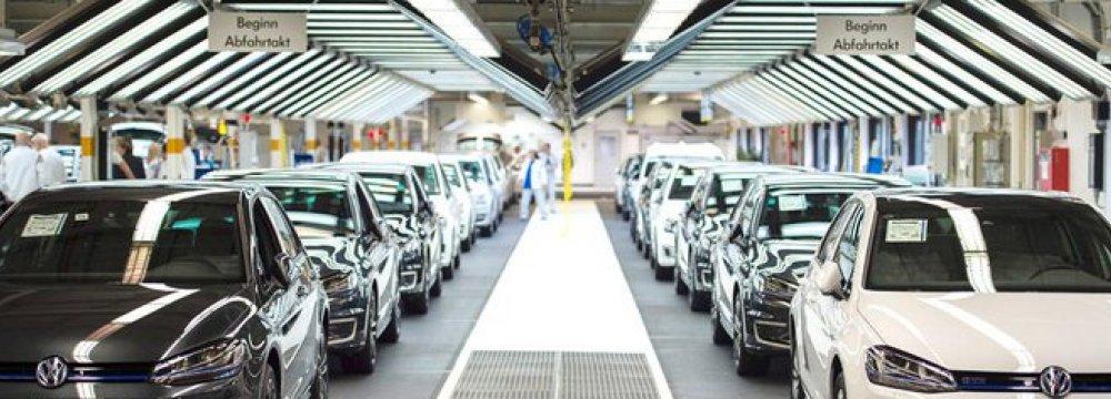 German Factory Output Rises