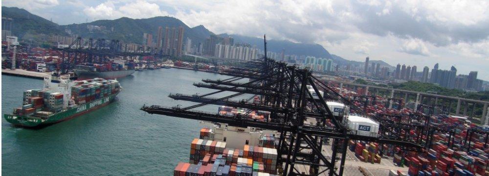 HK January Exports Slump
