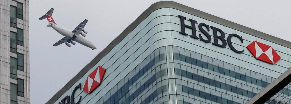 HSBC Revenue Rises to $13b