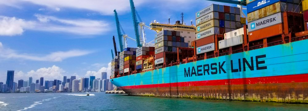 Maersk is expanding its competitive universe to include different types of companies.