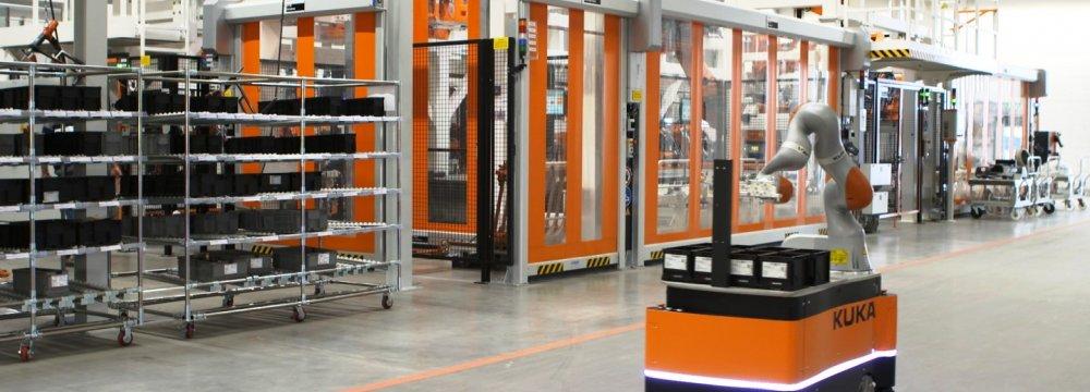 Chinese appliance maker Midea took over the German robotics maker Kuka for $4.8 billion in December 2016.