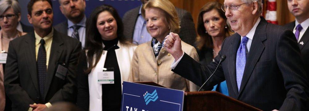 29 Percent of Americans Support Trump Tax Bill
