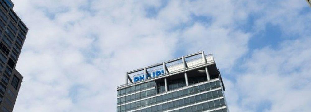 Philips Profits Plunge 32.9%