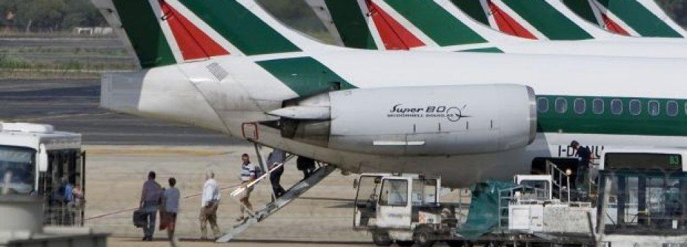 Ryanair Makes Non-Binding Offer to Alitalia