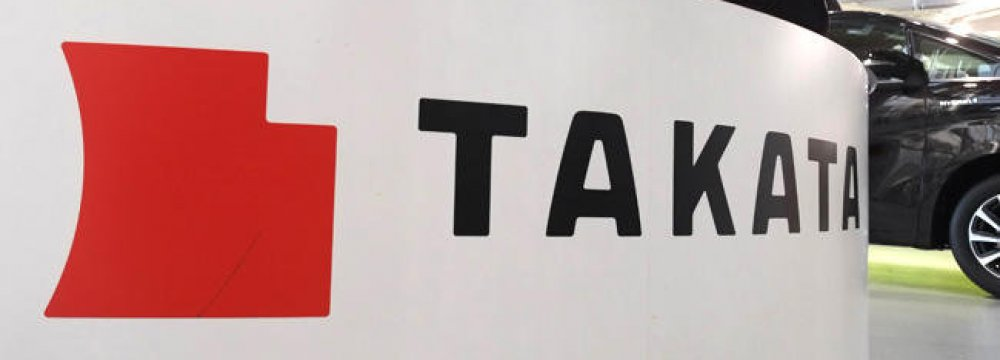 Takata Stocks Plummet Further