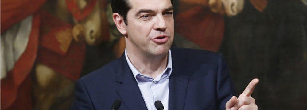 Tsipras: Growth  to Reach 2%