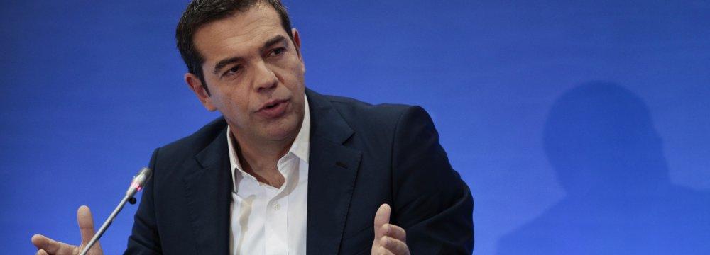 Tsipras Promises More Jobs, Less Taxes