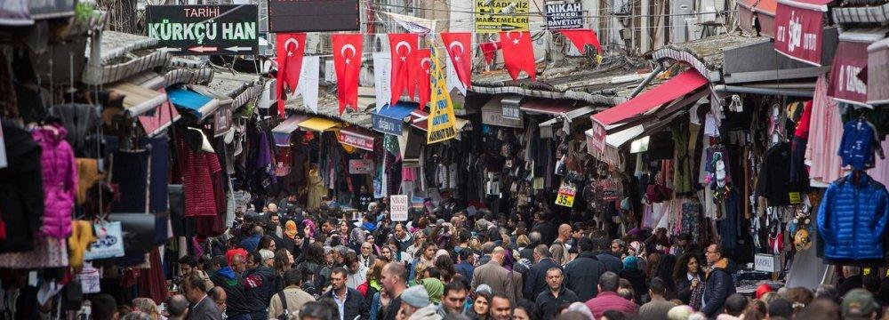 Turkey Sees 4.1% Growth