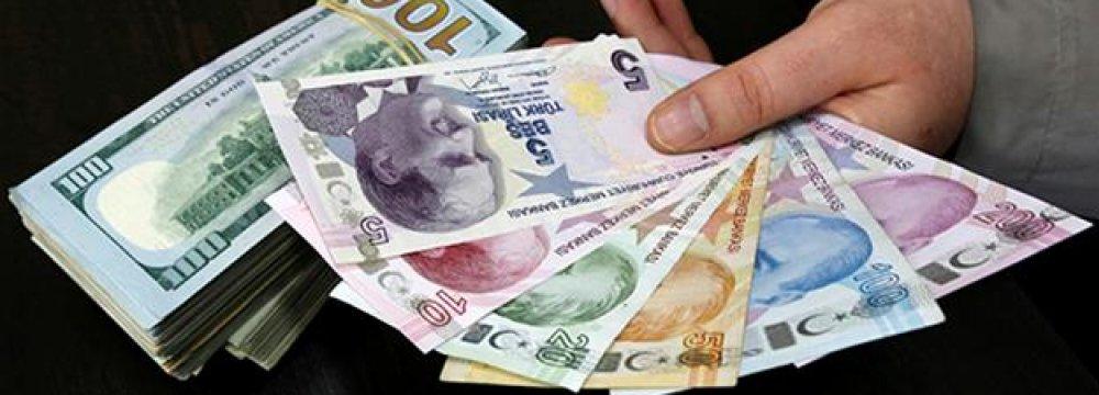 Turkey Current A/C Deficit Widens