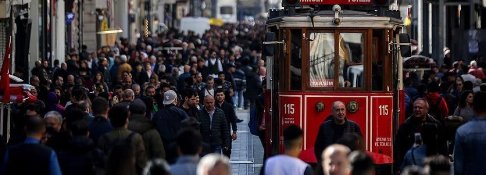 Turkey Jobless Rate Falls to 10.1%