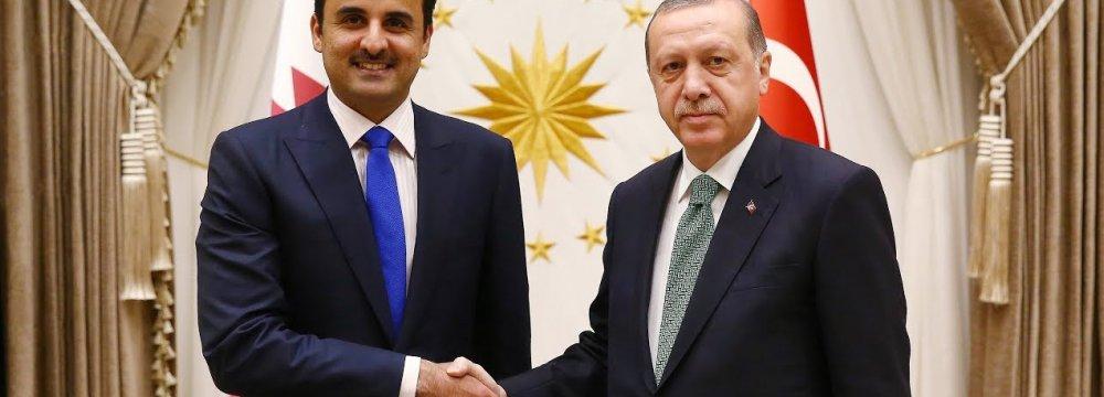 Qatar Pledges $15b Investment :      Turkish Lira Weakens 6% on Threat of More US Sanctions