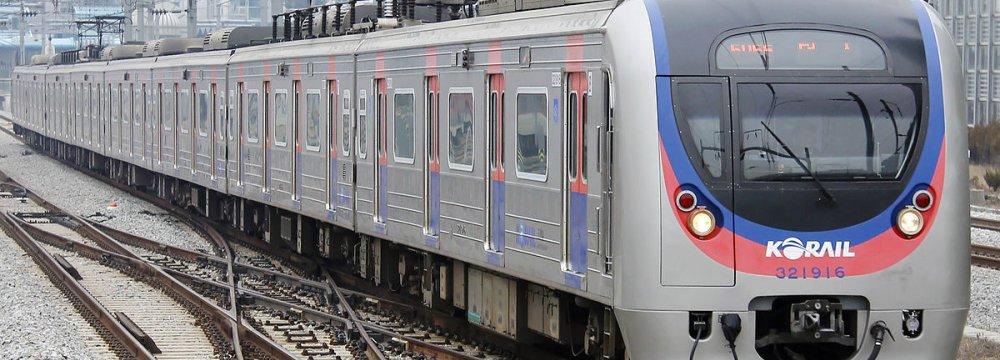 South Korea plans to link the Donghae line on the east coast and the Gyeongui line on the west coast.