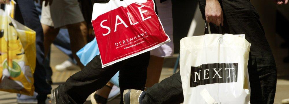 UK Retail Sales Drop Sharply
