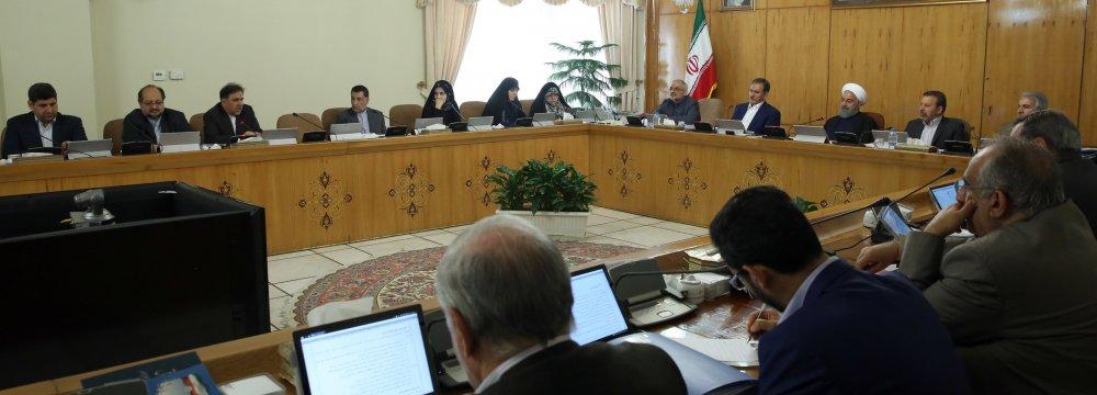 Iran Gov't Notifies CFT Law