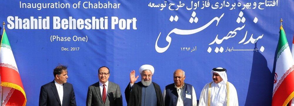 Chabahar, Iran's Sole Oceanic Port Opens