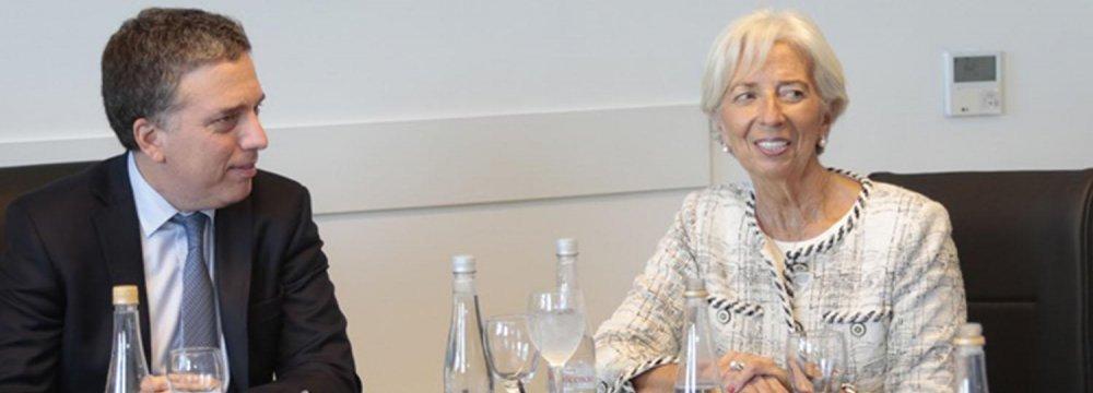 Argentina Says Making Progress in IMF Talks