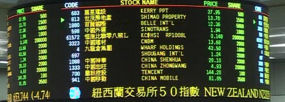 Asian Stocks Slip, Yen and Gold Rise as Global Risks Rise