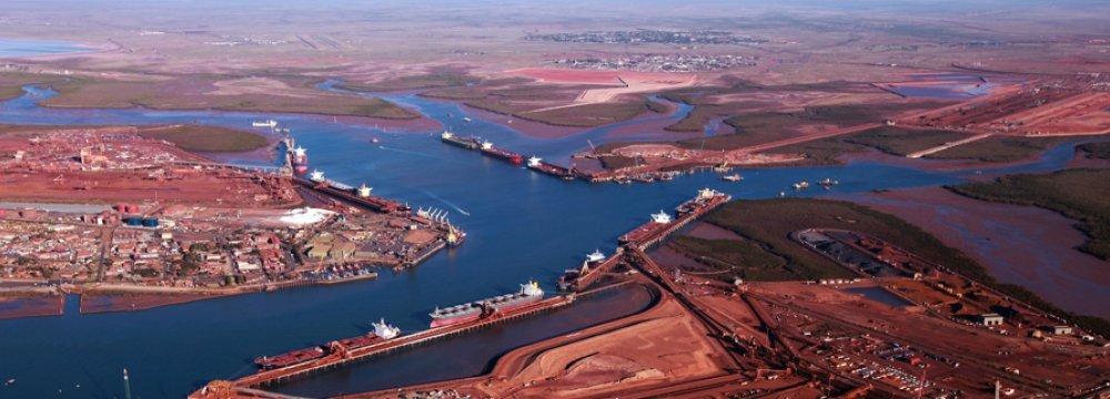 Iron Ore, Coal Boosting Australia Economy