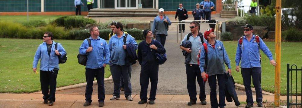 Australia CB Upbeat on Growth Rise