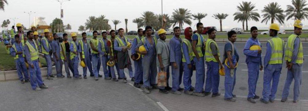 Boycott Hurting Qatar Economy, Workers