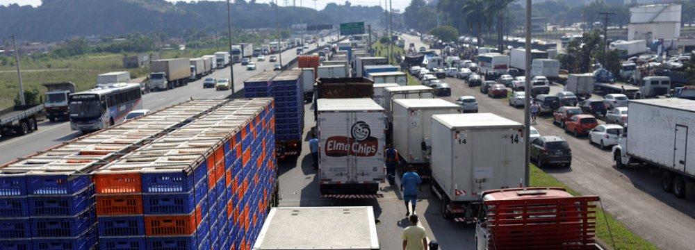 Brazil Trucker Strike Caused Billions in Losses
