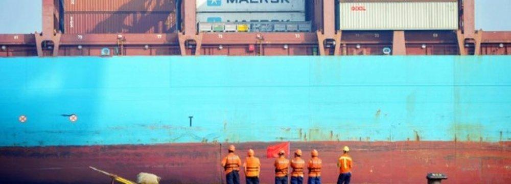 China Export Growth Falters, Yuan at 16-Month High