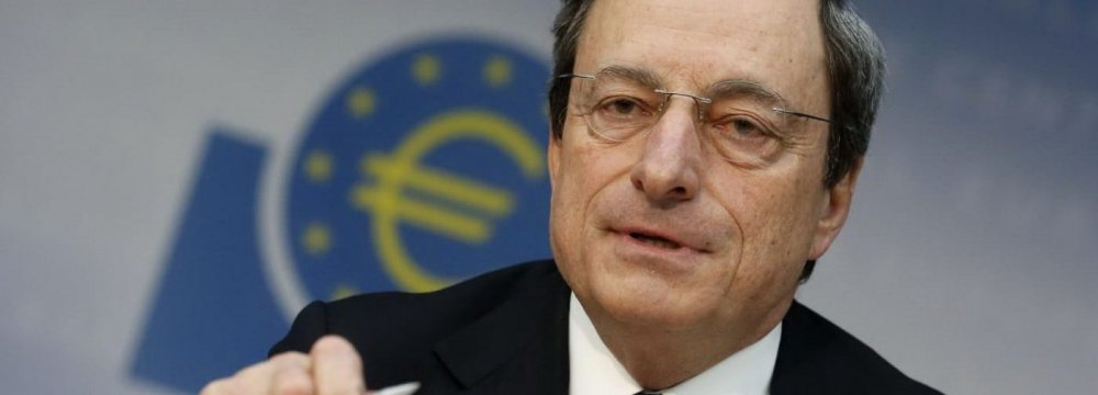 Draghi May Lift ECB Interest Rate Before Leaving