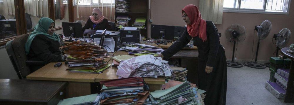 Gazans on Edge of Economic Collapse