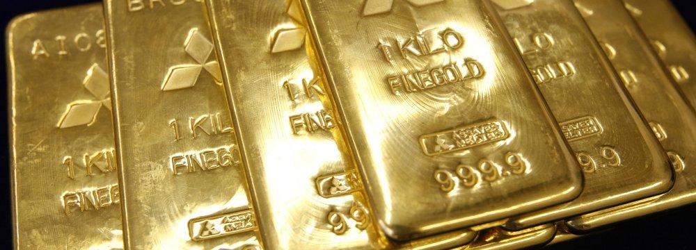 Gold Over 3-Week High