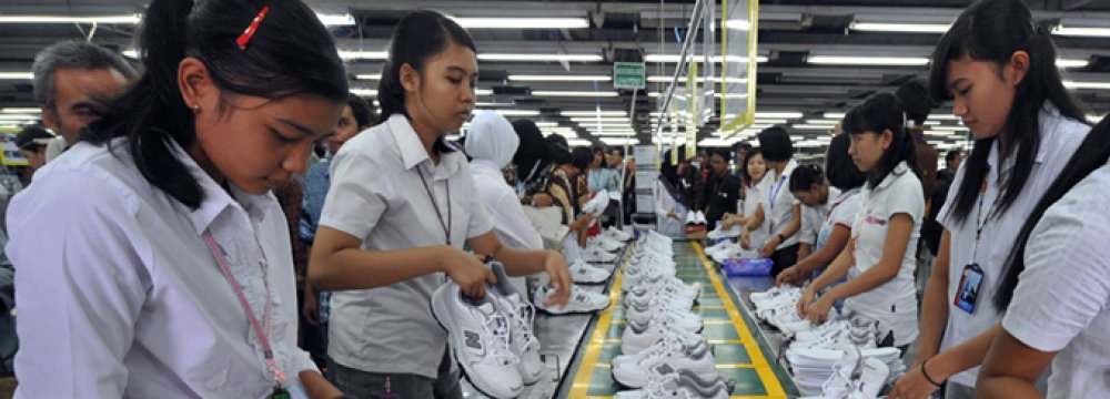 Indonesia's growth is stuck at about 5 percent,  well below the 7 percent target.