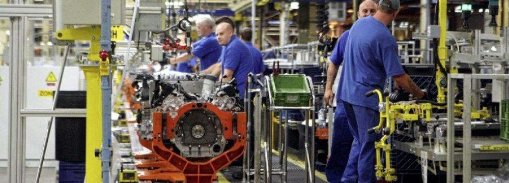 Irish Factory Output at 18-Year High